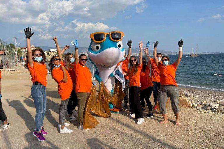 Καθαρισμός της παραλίας στα «Βοτσαλάκια» από το SIP και την ΚΟΔΕΠ, στο πλαίσιο των Ημερών Θάλασσας
